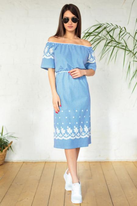 283d50b5424 Летнее платье женское Голубка МДР